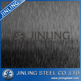 Bronze hairline stainless steel 304 decorative color    sheet