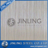Color coatede hairline finish stainless steel copper sheet